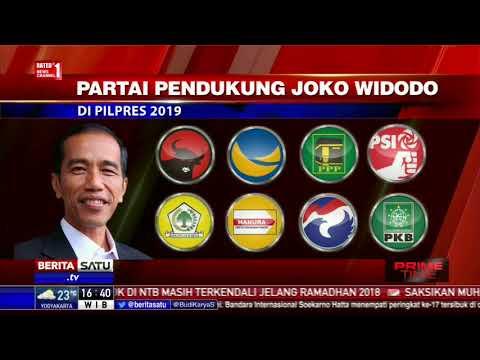Jokowi dan Prabowo Kembali Bersaing di Pilpres 2019