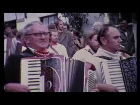 The 'Obby 'Oss festival, Padstow, Cornwall 1960's