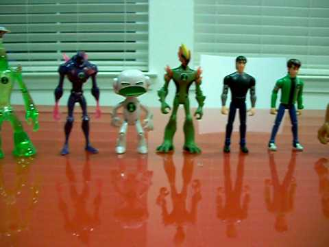 Ben 10 Alien Force Toys