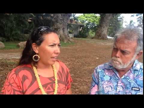 Tamara Paltin, candidate for Maui Mayor, speaks with Jason Schwartz- 7 31 2014