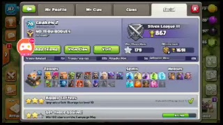 Watch me play Clash of Clans with you all playing