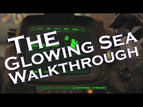 THE GLOWING SEA WALKTHROUGH; Fallout 4 - Finding Virgil