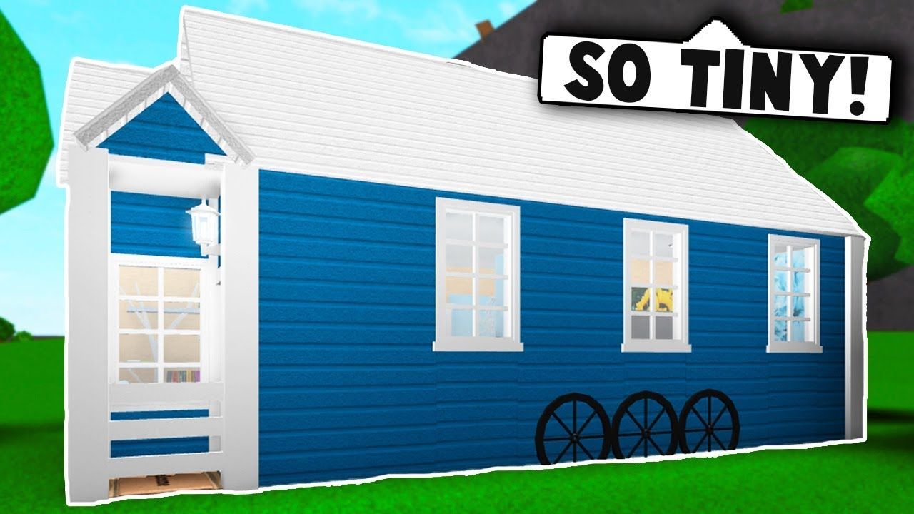 I Spent 24 Hours In Someones House Roblox Bloxburg Youtube - I Made A Tiny House On Bloxburg Roblox Bloxburg Roblox Roleplay