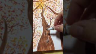 Fall trees: Perspective