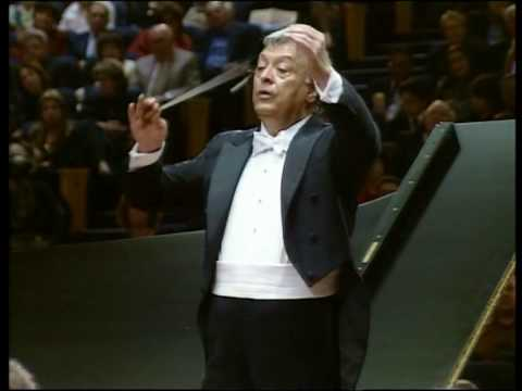 "Zubin Mehta conducts Beethoven Piano concerto No.5 ,""The Emperor"",1st movement part II"