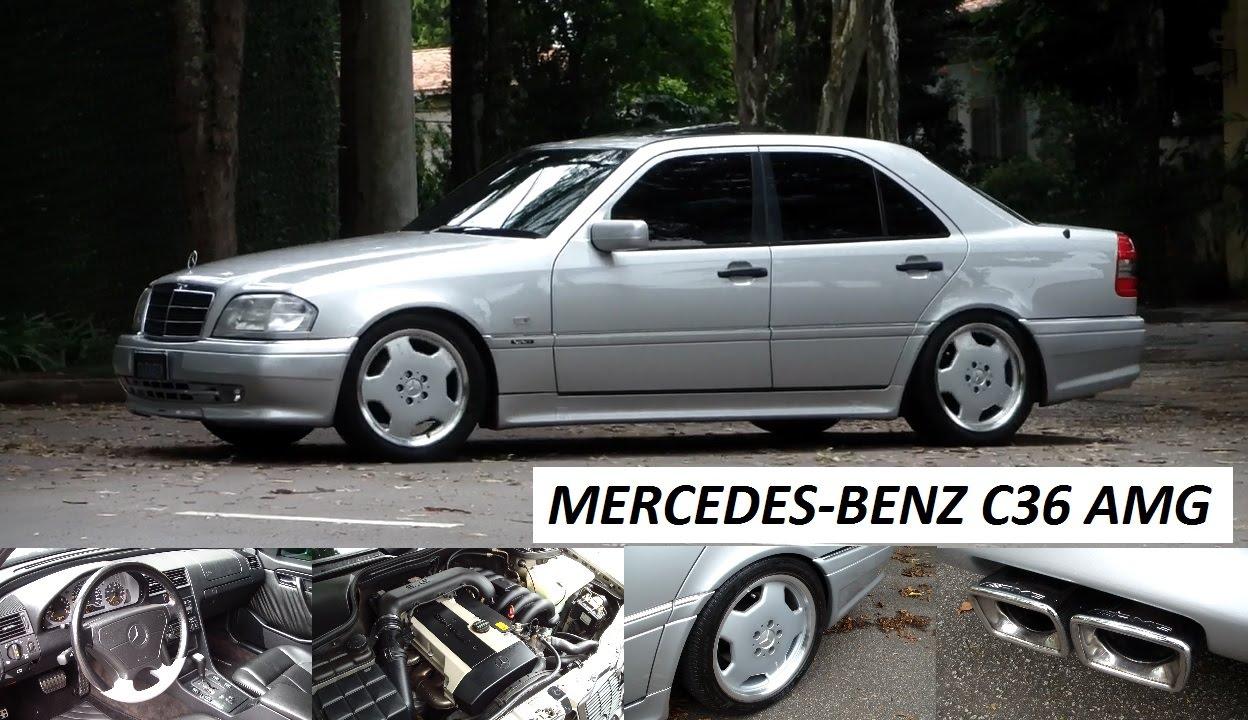 Garagem do bellote tv mercedes benz c36 amg youtube for Mercedes benz watch