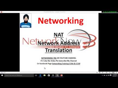 What Is NAT (Network Address Translation) Video-1 In Hindi By- Manpreet Gill