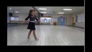 """Waltz with the Girl"" Line Dance Demo, Beginner Level 1 wall Music Michael English"