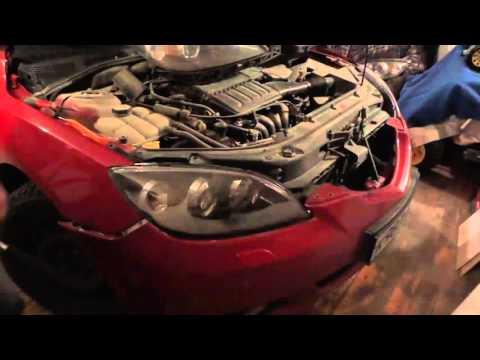 Замена фары Mazda 3 Хетчбэк 2005 г.