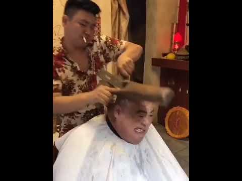 Download Youtube: crazy hair cut in China .