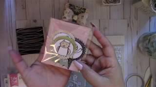 4 x 4 Gift Box w/ Accordion Pockets/Tutorial