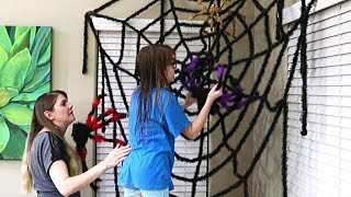 HALLOWEEN DECORATING // MOTIVATION // CLEANING MOM