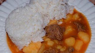 Carne Guisada (puerto Rican Style Beef Stew)