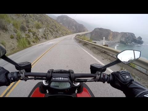 Mellow Diavel Cruise through Big Sur