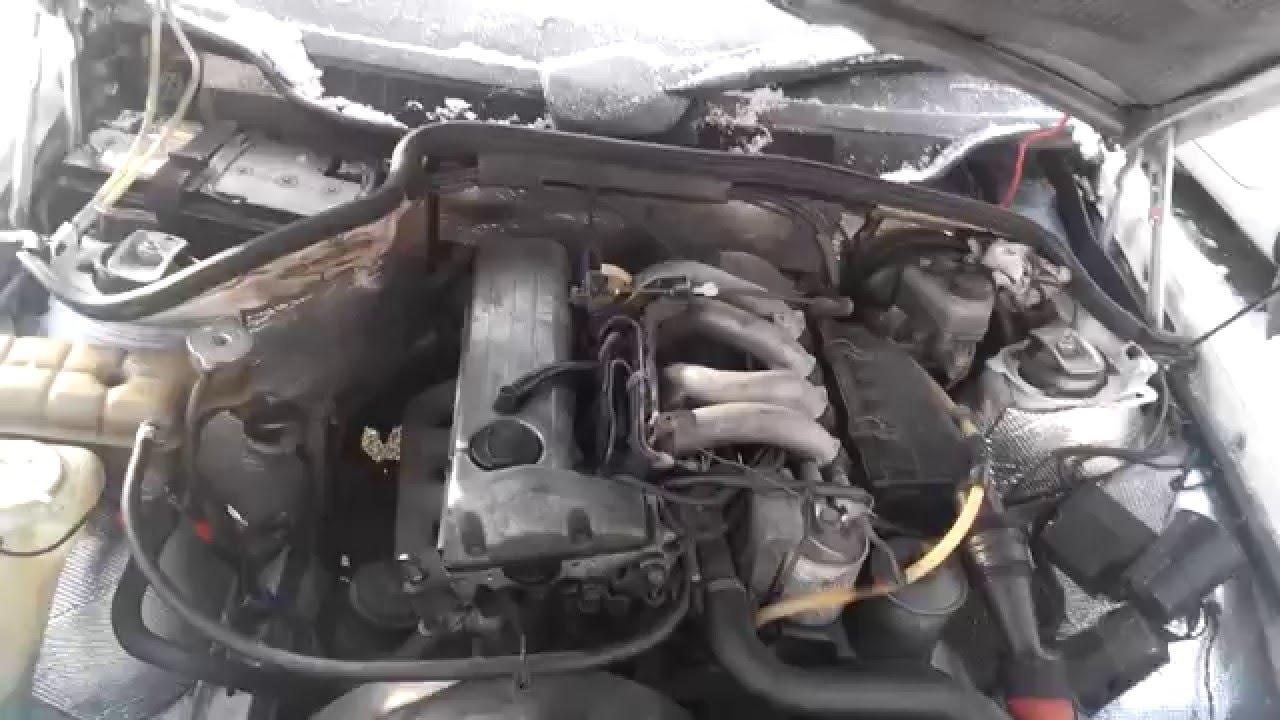 не заводится дизель 605 мотор мерседес
