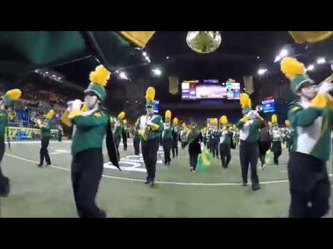 North Dakota State University Gold Star Marching Band 2017