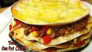 Beef Tortilla Pie - Recipe