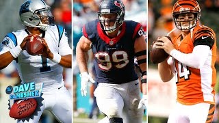 Open Letter: Andy Dalton vs. J.J. Watt & Cam Newton