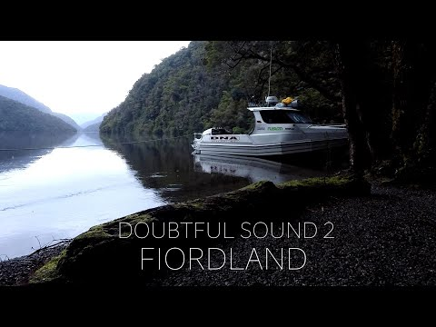 NEW ZEALAND Wilderness - Doubtful Sound #2 FIORDLAND Hunting And Diving And Fishing