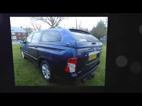 SsangYong Korando Sport Pick Up EX 5dr Auto 4WD for sale in Consett, Durham