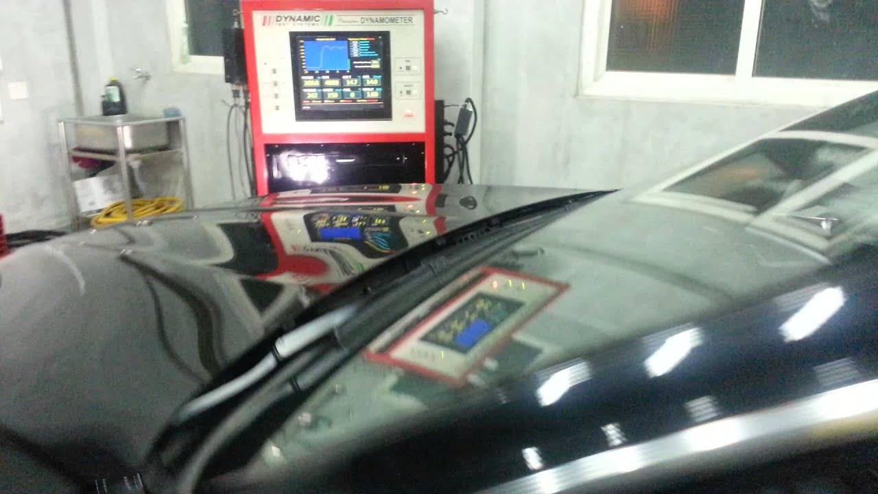 m-tek ecu power kit installed on bmw f10 520d dyno - youtube