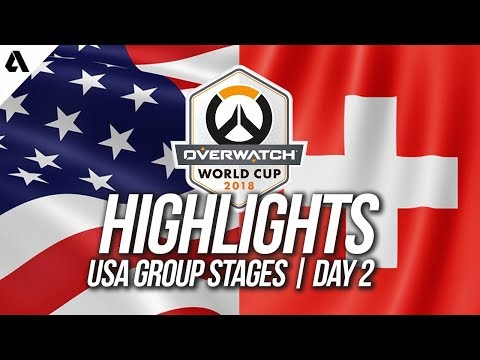 USA vs Switzerland | Overwatch World Cup 2018 Los Angeles Qualifier Day 2 thumbnail