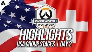 USA vs Switzerland | Overwatch World Cup 2018 Los Angeles Qualifier Day 2