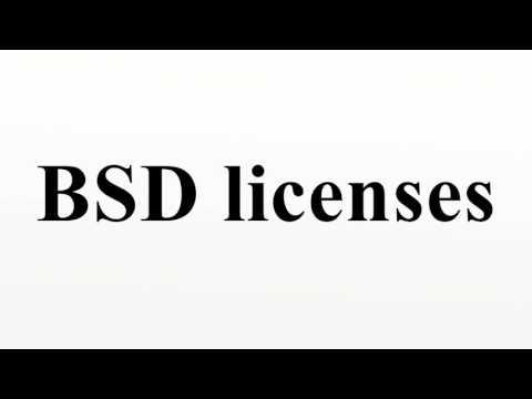 BSD licenses