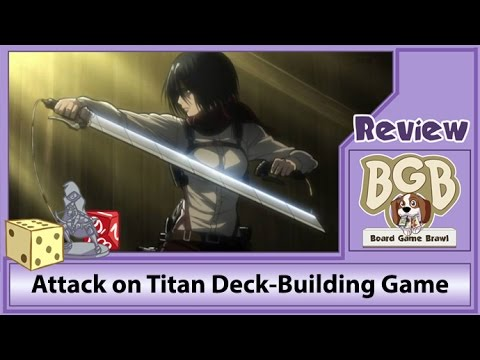 Attack On Titan Deck Building Game | Geek Foundry, LLC
