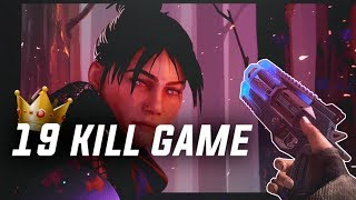 19 kill game - My new record - Wraith   Apex Legends