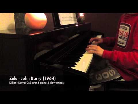 "Killian - Piano - Main Theme ZULU piano ""John Barry"" 1964"