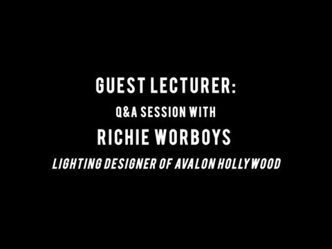 ADJ University: Richard Worboys - Being A Lighting Designer For Avalon Hollywood