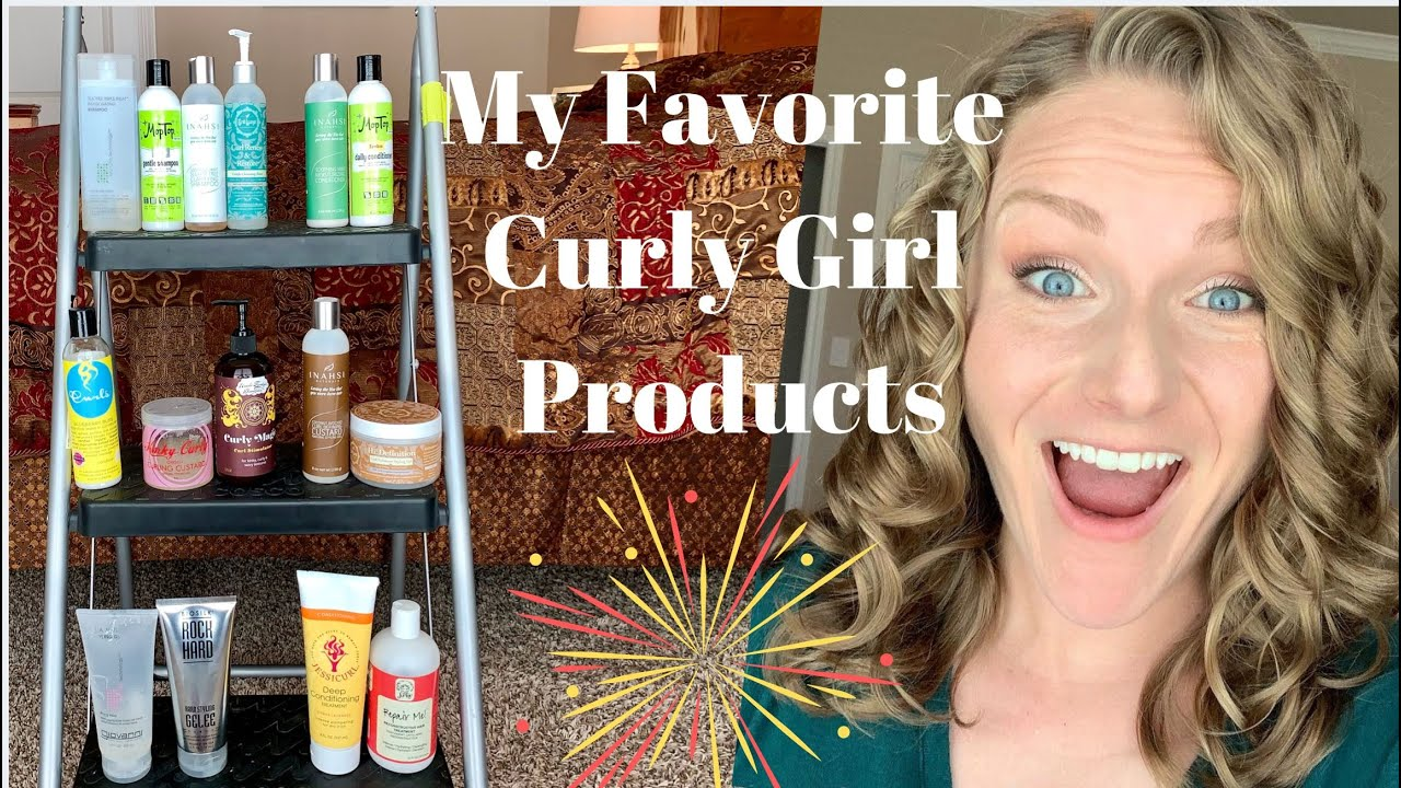 Favorite Curly Girl Hair Products For Wavy Hair 2a 2b 2c Hair Youtube