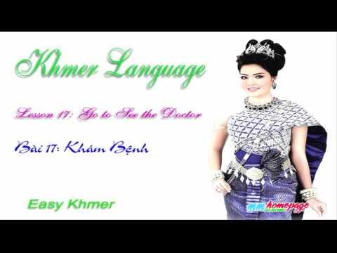 Giáo trình Đàm thoại Việt Khmer bài 17