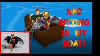 Roblox | Steve's One Piece - How to make an NPC sit in your boat!