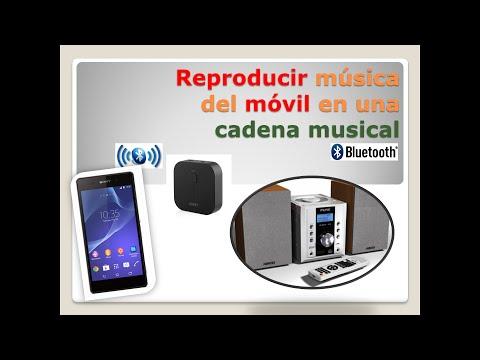 GUAY: Reproducir música del móvil en una minicadena