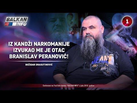 INTERVJU: Božidar Dragutinović - Iz kandži narkomanije izvukao me Branislav Peranović! (02.07.2018)