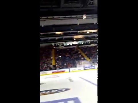 Adirondack Jr Wings 2016 Pee Wee Quebec International Tournament - view from the bench