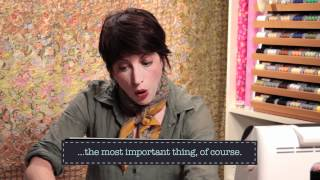 Quilty: Paper-Piecing Basics, Part 1: Quilting How-To