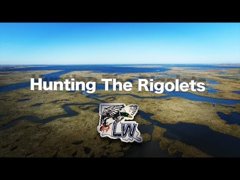 Duck Hunting The Rigolets, New Orleans Louisiana