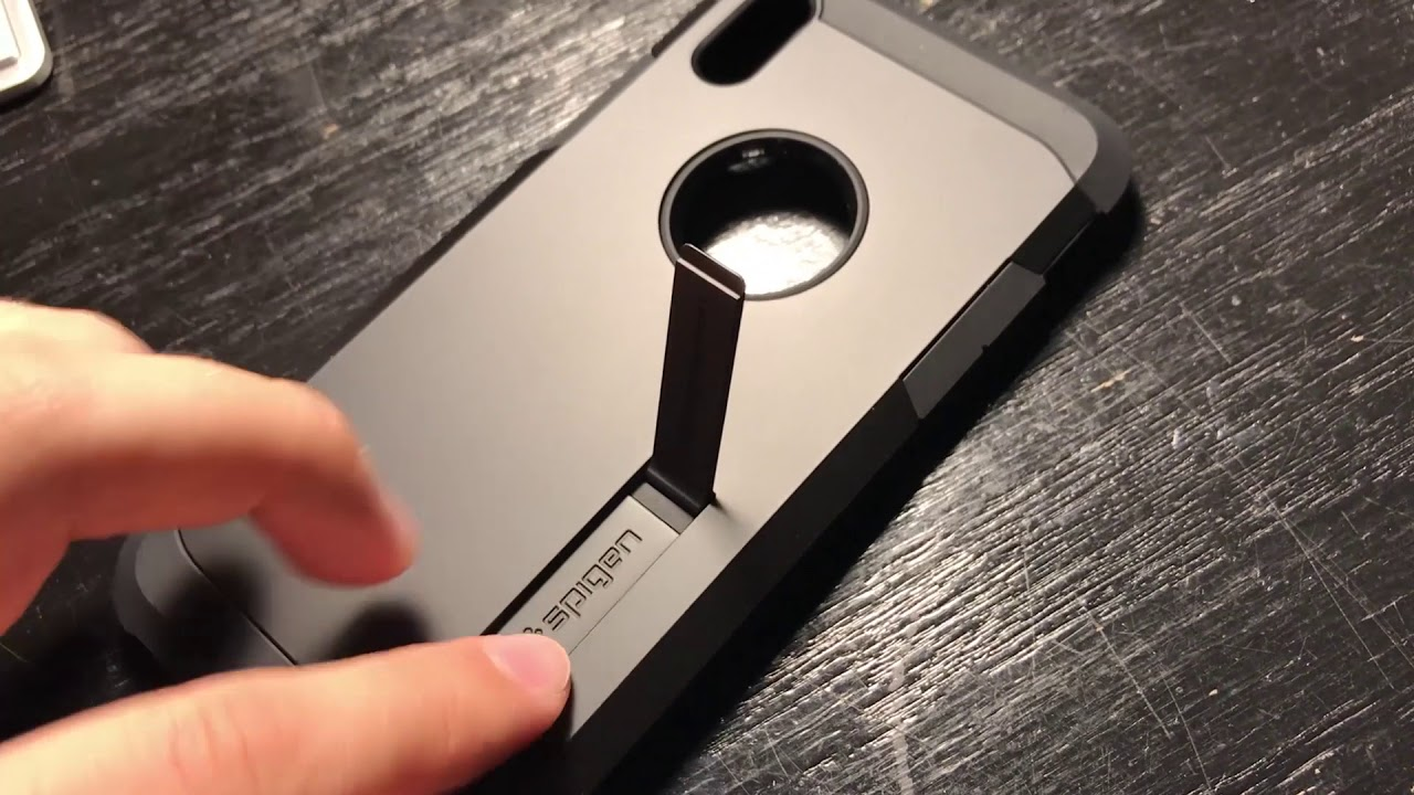 cheaper 5f291 559e1 Unboxing the Spigen Tough Armor for iPhone X! - YouTube