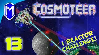 Cosmoteer - Very Slow Projectiles - Lets Play Cosmoteer Mod 1 Reactor Challenge Gameplay Ep 13