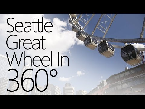 The Seattle Great Wheel in 360 Degree Video