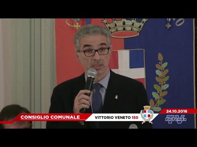 CONSIGLIO COMUNALE - VITTORIO VENETO 150 - 24.10.2016