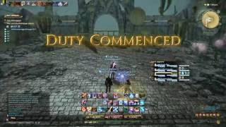 Final Fantasy XIV - Amdapor (Hard) (Lvl 60 dungeon) - Black Mage