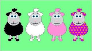 Baa Baa Black Sheep | Baby Big Mouth Nursery Rhymes & Kids Songs