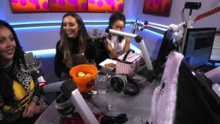 Apple Bobbing with Little Mix