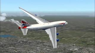British Airways Flight 282 747-400 LAX-LHR (FS2004)