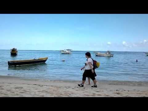 Seychelles Anse Royale Beach on a Sunday Afternoon