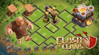 Clash Of Clans - TH 11 Hybrid Dark Elixir Base - 2 Bomb Tower&300 Walls